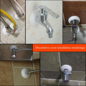 10pcs Angle Valve Pipe Protection Kitchen Decorative Cover