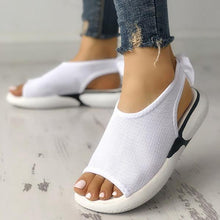 Load image into Gallery viewer, Casual Mesh Fabric Breathable Bowknot Embellished Sandals