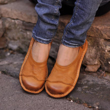 Load image into Gallery viewer, Women Soft Pu Flat Heel Casual Loafers