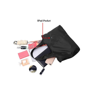 Women's Large-capacity Shoulder Bag Waterproof Nylon Handbag