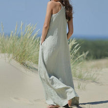 Load image into Gallery viewer, Women Full-Length Loose Casual Dresses For Summer