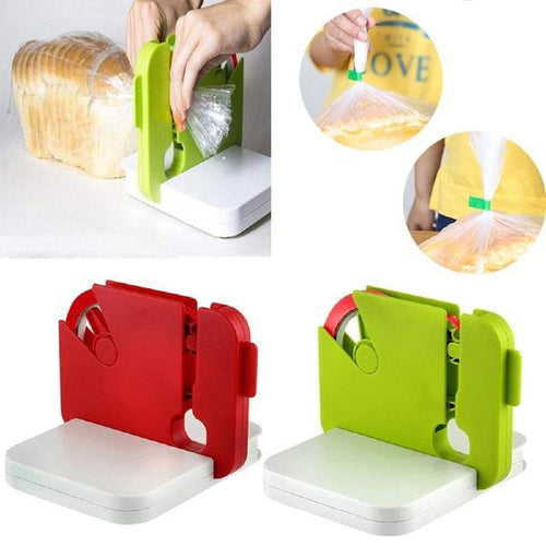 Portable Food Saver Bag Sealing Device
