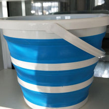 Load image into Gallery viewer, 5L/10L Portable Folding Collapsible Silicone Ice Bucket Tray Tool Bowl Bucket