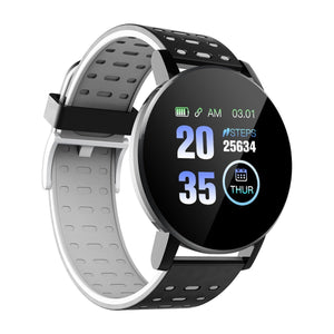Fitness Tracker Color Screen Bluetooth Smart Watch