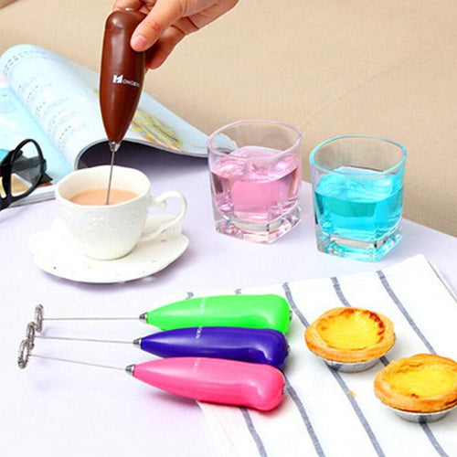 Mini Electric Mixer Kitchen Gadgets Muddler Stirring Rod Eggs Beater