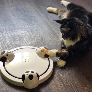 (TOP 1 SALE)Adjustable Speed Pounce Cat Toy