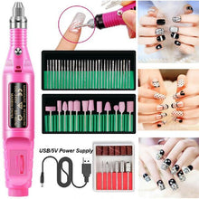 Load image into Gallery viewer, Pen-Type Electric Nail Polisher Set