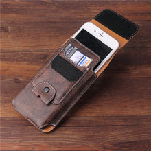 Load image into Gallery viewer, Vintage Universal Pouch Case For iPhone 5.5/4.7 Inch Waist Bag