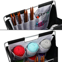 Load image into Gallery viewer, Fold-Up Sewing Needle Weaving Tool  Knitting Bag Yarn Storage