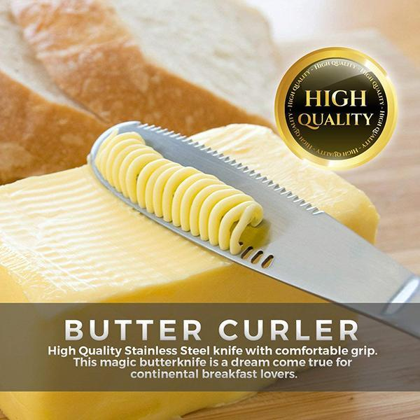 Multifunction 3 in 1 Stainless Steel Butter Knife