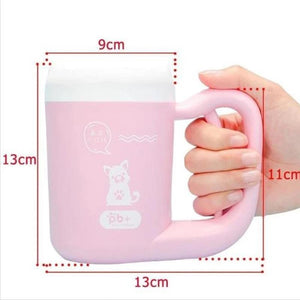 360° Pet Paw Cleaning Cup (Cats & Dogs)