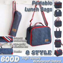 Load image into Gallery viewer, Women Insulation Lunch Picnic Handbag (8 Styles )