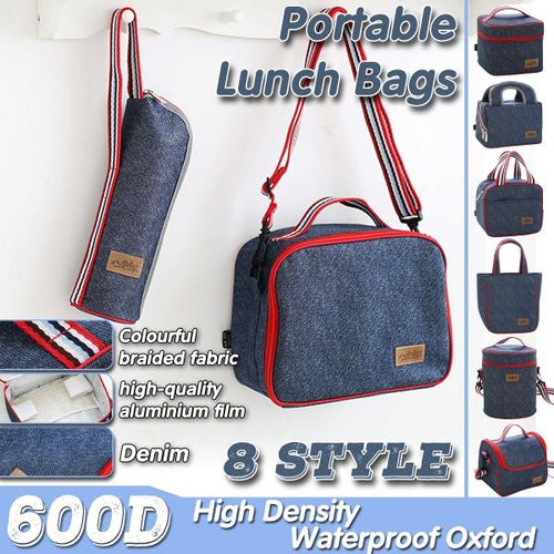 Women Insulation Lunch Picnic Handbag (8 Styles )