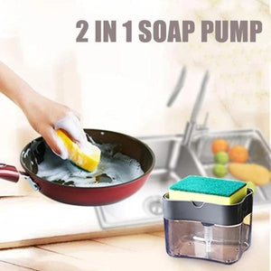 2 In 1 Portable Soap Pump