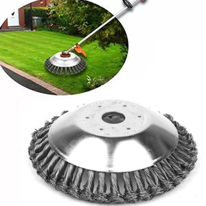 6/8 inch Garden Break-proof Rounded Edge Weed Trimmer Head for Power Lawn Mower Grass