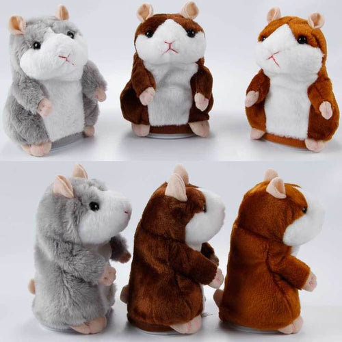 Electric Nod Talk Hamster Doll Child Toy