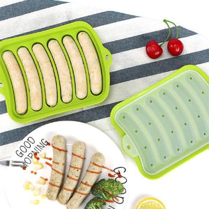 DIY Ham Hot Dog Burger Baking Mould