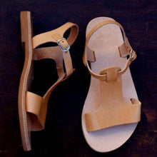 Load image into Gallery viewer, Casual Open Toe Flat Bottom Sandals