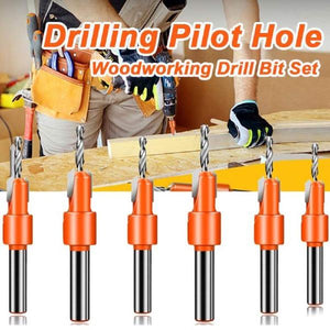 6 Size Professional Sink Hole Drill Head