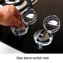 Load image into Gallery viewer, 2Pcs Children Safety Gas Stove Switch Cover