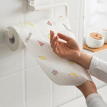 Load image into Gallery viewer, Kitchen Disposable Paper Towel Napkin Oil Washing Dish Cloth with Rack