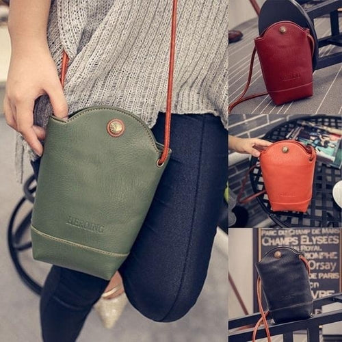 New Fashion Women Leather Shoulder Messenger Crossbody Bag