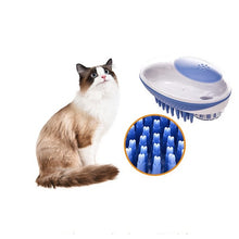 Load image into Gallery viewer, Multifunctional Portable Pet Bath Massage Brush Mouse Feel Press Out Shower