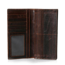 Load image into Gallery viewer, Vertical Retro Men's Fashion Wallet
