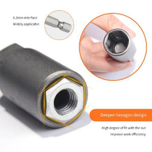 Load image into Gallery viewer, 5.5-19mm Chrome-Vanadium Torx Steel Socket Wrench Adapter