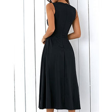 Load image into Gallery viewer, Women Summer Plus Size A-line Midi Dress