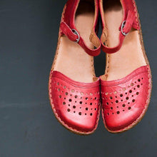 Load image into Gallery viewer, Women Summer Ladies Round Toe Hollow-out Flats