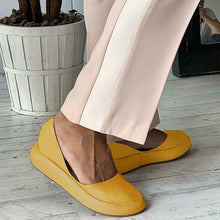Load image into Gallery viewer, Slide Round Summer Casual Flat Heel Women Flats