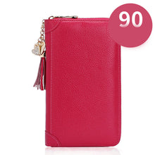 Load image into Gallery viewer, Women Business Zipper 60/90 Card Slots Holder Purse Wallet Mini Bag