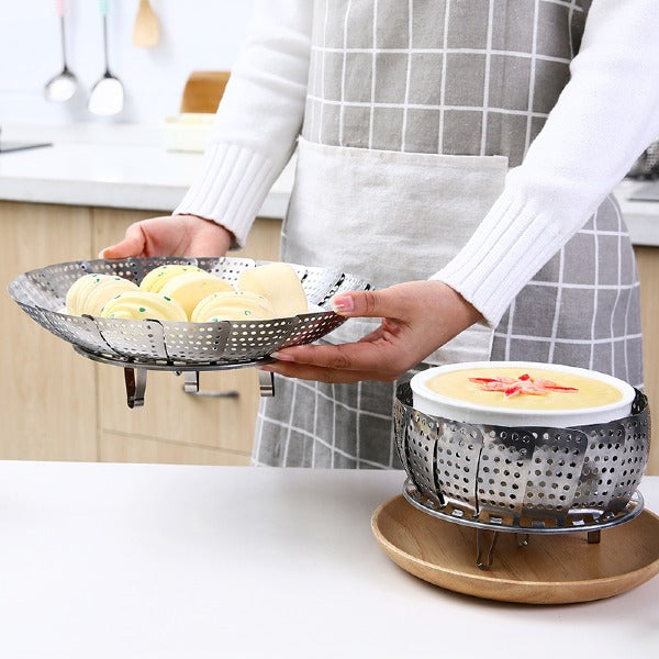 Kitchen Folding Dish Steam Basket