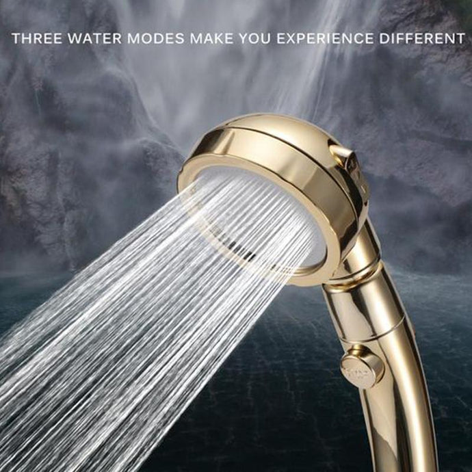 3-in-1 High Pressure Shower Head