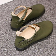 Load image into Gallery viewer, Women Round Toe Slip On Flat Shoes