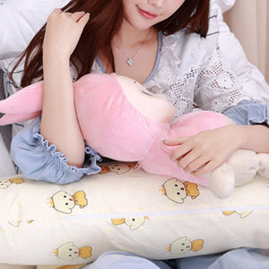 Lovely Printed Pregnancy Pillow Keep High Sleep Quality Waist Pillow
