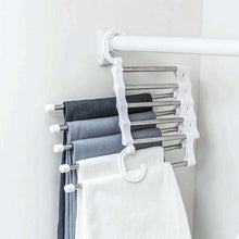 Load image into Gallery viewer, Trousers Hanger - 5 Tier Multi-function Pants Racks