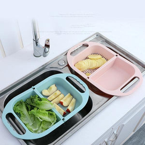 Home Kitchen Multifunctional Foldable Drain Basin