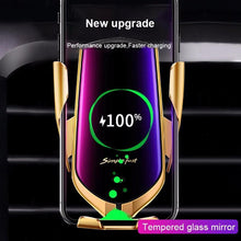 Load image into Gallery viewer, Fashion Car Holder Fast Wireless Phone Holder Charging Air Vent