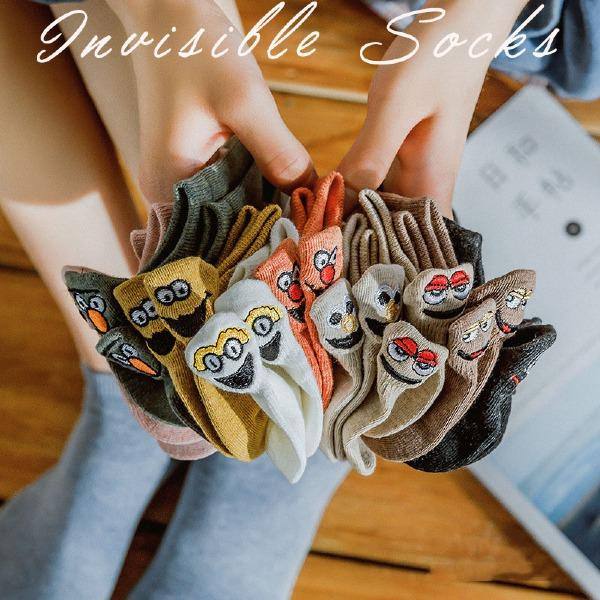 Women Embroidered Cartoon Socks(10 Colors)