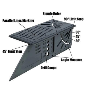 New 3D 90 Degree Square Carpenter's Tool