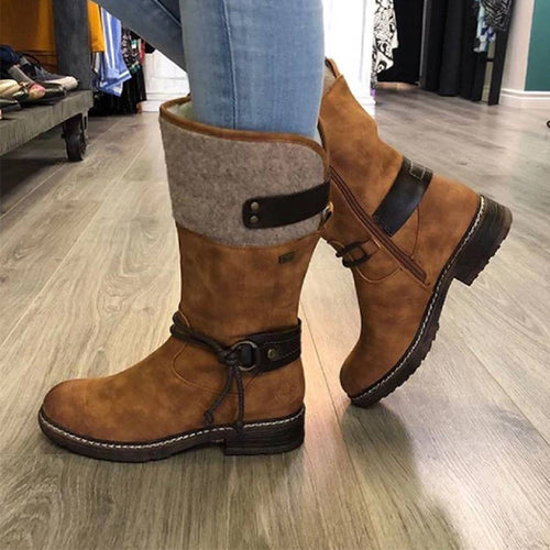 Women Casual Comfortable Snow Boots