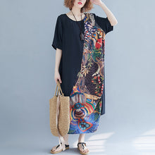 Load image into Gallery viewer, Summer Vintage Women Loose Beach Dresses