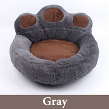 Load image into Gallery viewer, 4 Colors Pet Bed Luxury Bear Claw Shape Dog Sofa Sleeping Bed Cats Kennel Goods for Small Dogs Pets Animals