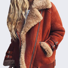 Load image into Gallery viewer, Women Fashion Sexy Fleece Wool Fur Jacket