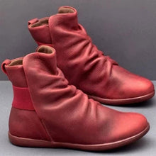 Load image into Gallery viewer, Women Artifical Leather Comfy Boots