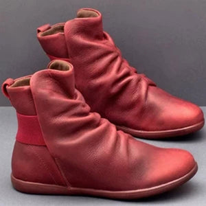 Women Artifical Leather Comfy Boots