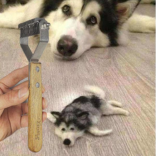 Pet Dog Y Type Hair Comb