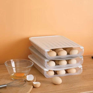 Auto Scrolling Egg Storage Holder